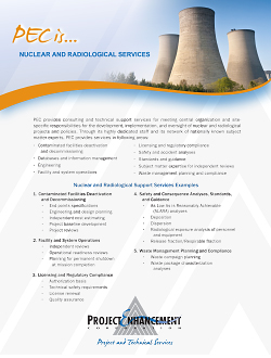 Picture of Nuclear and Radiological Services PDF