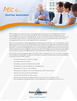 Picture of Proposal Management Services PDF